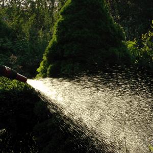 Mangueira de Irrigação com programadores automáticos