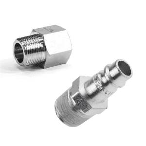 Conexões pneumáticas de engate rápido