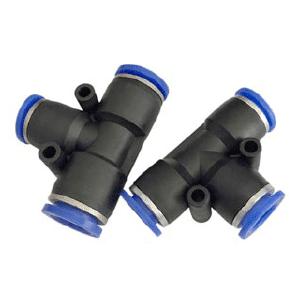 Conexões pneumáticas fixas