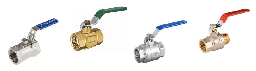 Tipos de válvula de esfera existentes no mercado